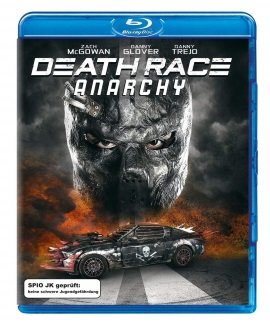 """Das Blu-ray-Cover von """"Death Race Anarchy"""" (© Universal Pictures International Germany)"""