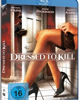 "Das Blu-ray-Cover von ""Dressed To Kill"" (© FilmConfect)"