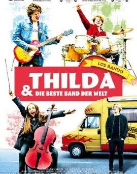 """Das Hauptplakat von """"Thilda und die beste Band der Welt"""" (© Farbfilm Verleih)"""