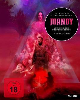 """Das Mediabook-Artwork von """"Mandy"""" (© Koch Films)"""