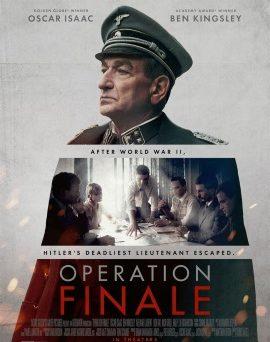 "Das US-Poster zu ""Operation Finale"" (© Netflix)"