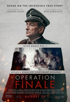 "Das US-Poster zu ""Operation Finale"" (© Netflix)"