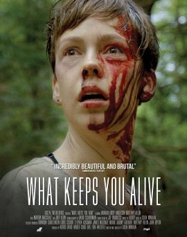 "Das internationale Plakat von ""What Keeps You Alive"" (© MPI Media)"