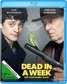 "Das vorläufige Blu-ray-Cover von ""Dead In A Week (Or Your Money Back)"" (© Ascot Elite)"