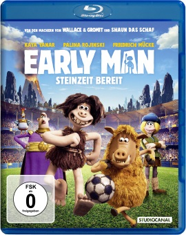 "Das Blu-ray-Cover von ""Early Man"" (© StudioCanal)"