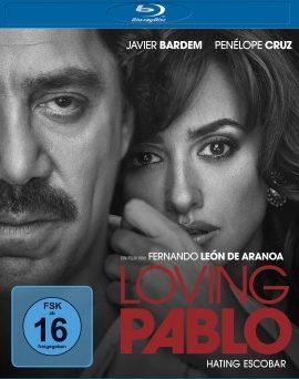 """Das Blu-ray-Cover von """"Loving Pablo"""" (© Universum Film)"""