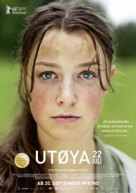 "Das Hauptplakat zu ""Utoya 22. Juli"" (© Weltkino)"