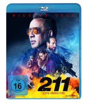 "Das Blu-ray-Cover von ""211 - Cops Under Fire"" (© EuroVideo)"