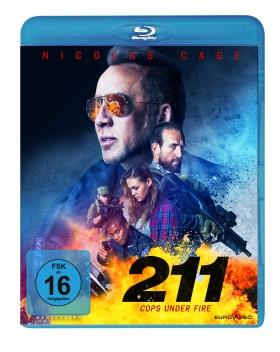 "Das Blu-ray-Cover von ""211 - Cops Under Fire"" (© EuroVideo)"