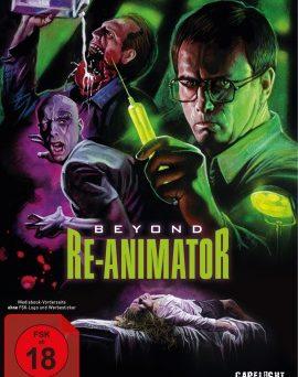 """Das Artwork von """"Beyond Re-Animator"""" (© Capelight Pictures)"""