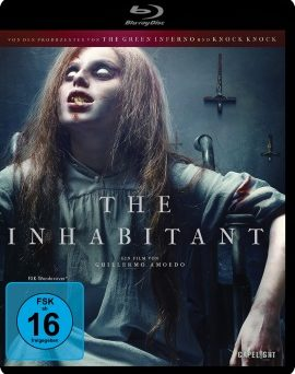 "Das Blu-ray-Cover von ""The Inhabitant"" (© Capelight Pictures)"