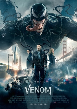 """Das Hauptplakat von """"Venom"""" (© 2018 Sony Pictures)"""