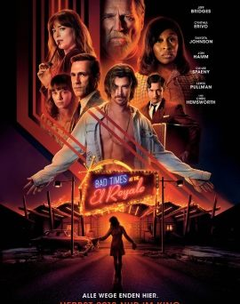 "Das Hauptplakat von ""Bad Times At the El Royale"" (© 2018 Twentieth Century Fox)"