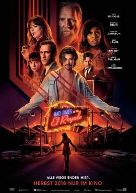 """Das Hauptplakat von """"Bad Times At the El Royale"""" (© 2018 Twentieth Century Fox)"""