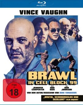 "Das Blu-ray-Cover von ""Brawl In Cell Block 99"" (© Universum Film)"