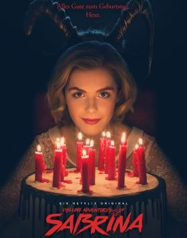 "Das Artwork zur ersten Staffel ""Chilling Adventures Of Sabrina"" (© Netflix)"