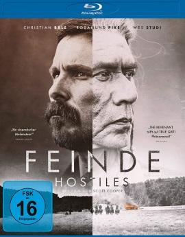 """Das Blu-ray-Cover von """"Feinde - Hostiles"""" (© Universum Film)"""