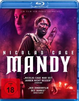 "Das Blu-ray-Cover von ""Mandy"" (© Koch Films)"