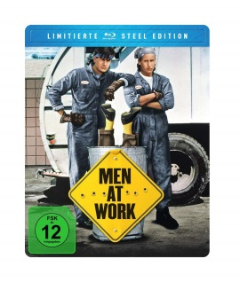 "Das Blu-ray-Cover von ""Men At Work"" (© Justbridge Entertainment)"