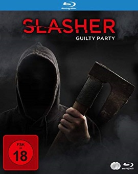 "Das Blu-ray-Cover von ""Slasher - Guilty Party"" (© Justbridge Entertainment)"