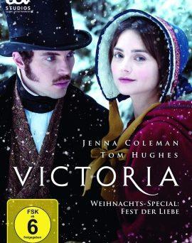 """Das DVD-Cover vom """"Victoria Weihnachts-Special"""" (© Edel:motion)"""