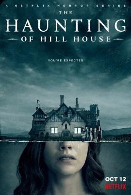 "Das US-Artwork zu ""Spuk in Hill House"" (© Netflix)"