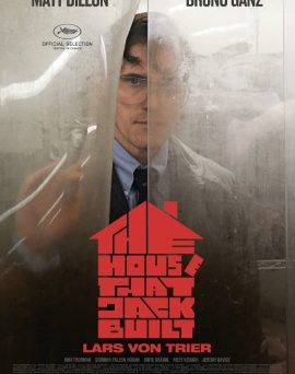 "Das Plakat von ""The House That Jack Built"" (© Concorde Filmverleih)"