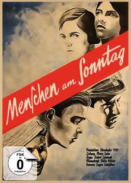 """Das Mediabook-Cover von """"Menschen am Sonntag"""" (© Atlas Film)"""