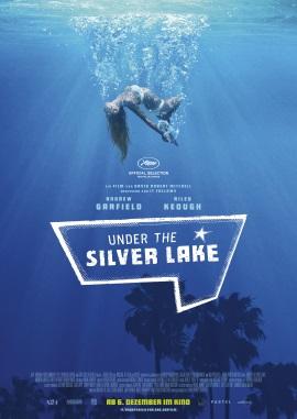 """Das Plakat von """"Under The Silver Lake"""" (© Weltkino)"""
