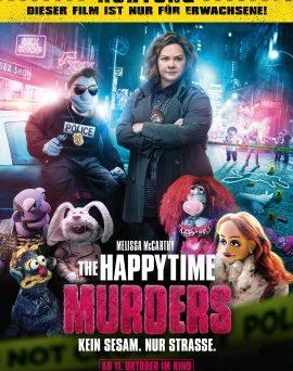 """Das Hauptplakat von """"The Happytime Murders"""" (© Tobis Film)"""