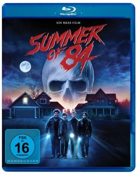 "Das Blu-ray-Cover von ""Summer of 84"" (© Pandastorm Pictures)"