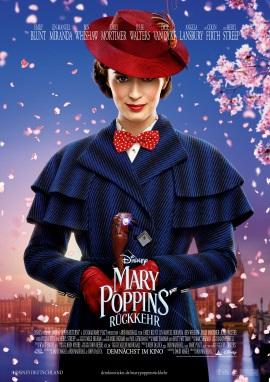 """Das Plakat von """"Mary Poppins' Rückkehr"""" (© Walt Disney Studios Motion Pictures Germany)"""