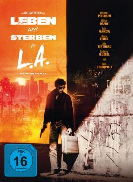 """Das Mediabook-Artwork von """"Leben und Sterben in L.A."""" (© Capelight Pictures)"""