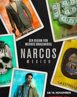 """Das Artwork von """"Narcos: Mexico"""" (© Netflix)"""