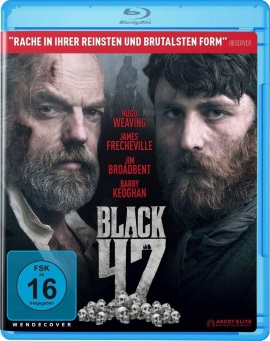 "Das Blu-ray-Cover von ""Black 47"" (© Ascot Elite)"
