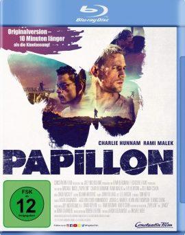 "Das Blu-ray-Cover von ""Papillon"" (© Constantin Film)"