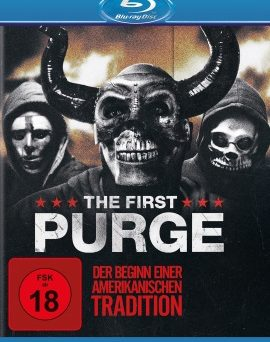 "Das Blu-ray-Cover von ""The First Purge"" (© Universal Pictures)"