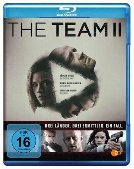 "Das Blu-ray-Cover von ""The Team Staffel 2"" (© Edel:motion)"