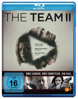 "Das Blu-ray-Cover von ""The Team Staffel 2"" (© Edel:motion)"