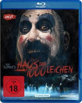 """Das Blu-ray-Cover von """"Haus der 1000 Leichen"""" (© StudioCanal)"""