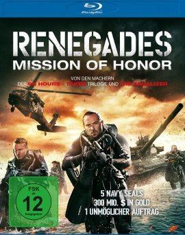 """Das Blu-ray-Cover von """"Renegades - Mission Of Honor"""" (© Universum Film)"""