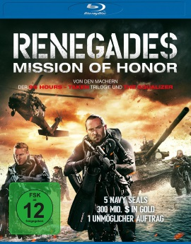 "Das Blu-ray-Cover von ""Renegades - Mission Of Honor"" (© Universum Film)"
