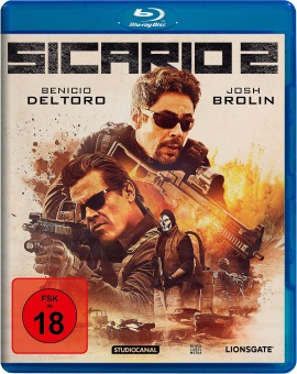 "Das Blu-ray-Cover von ""Sicario 2"" (© StudioCanal)"