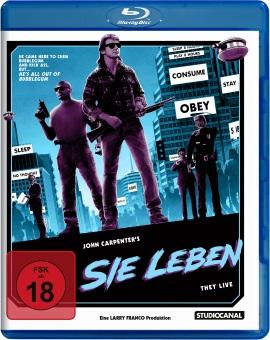 """Das Blu-ray-Cover von """"Sie leben"""" (© StudioCanal)"""