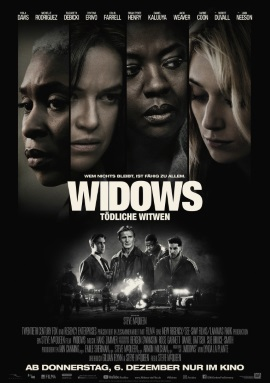 """Das Hauptplakat von """"Widows - Tödliche Witwen"""" (© 20th Century Fox)"""