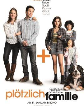 """Das Plakat von """"Plötzlich Familie"""" (© Paramount Pictures)"""