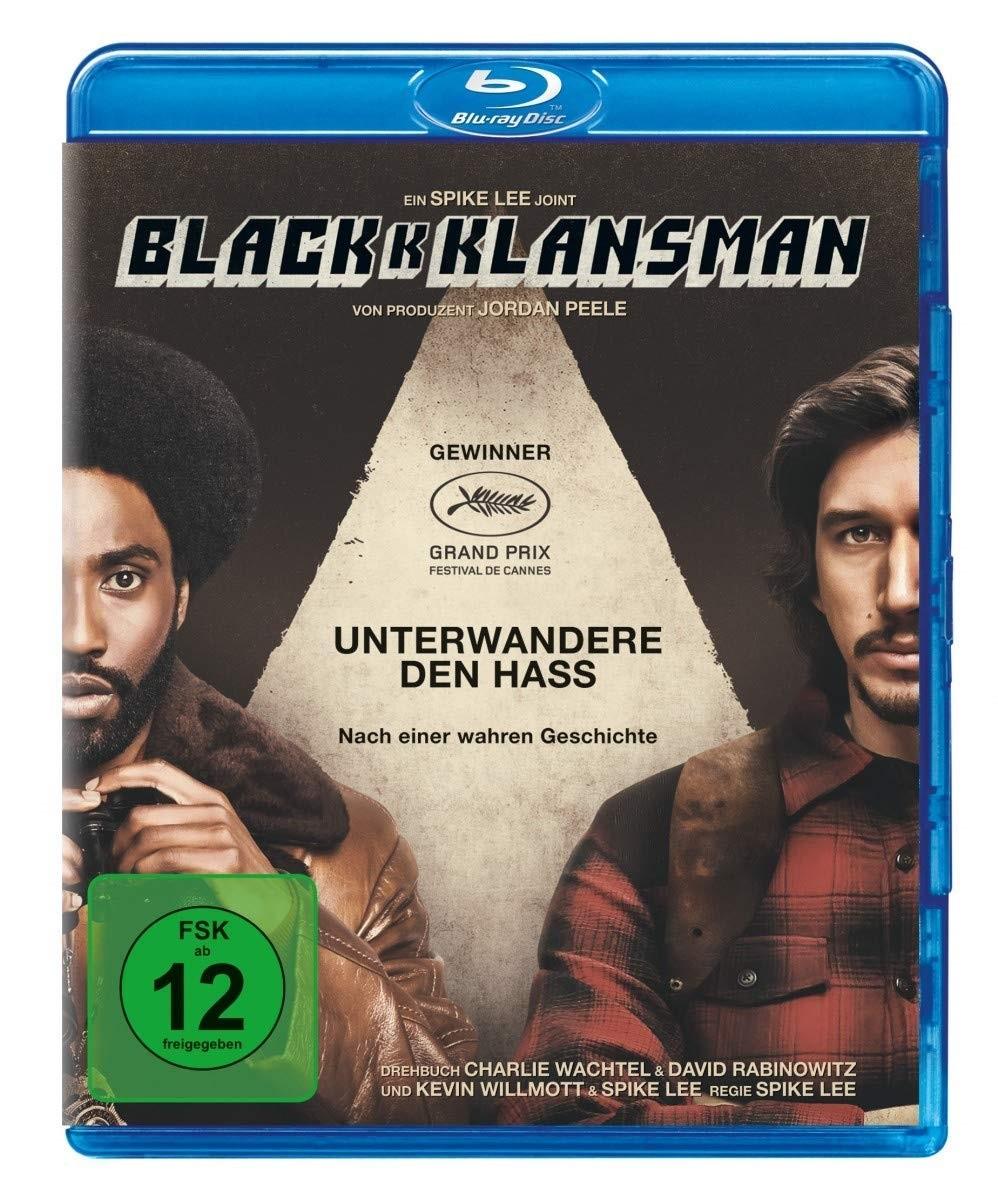 "Das Blu-ray-Cover von ""BlacKkKlansman"" (© Universal Pictures International Germany)"