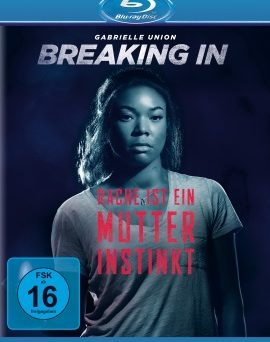"Das Blu-ray-Cover von ""Breaking In"" (© Universal Pictures)"