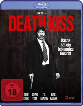 """Das Blu-ray Cover von """"Death Kiss"""" (© Busch Media Group)"""