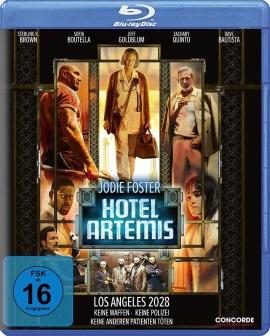 "Das Blu-ray-Cover von ""Hotel Artemis"" (© Concorde Home Entertainment)"